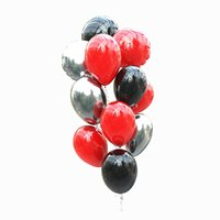 set helium balloons 3D model