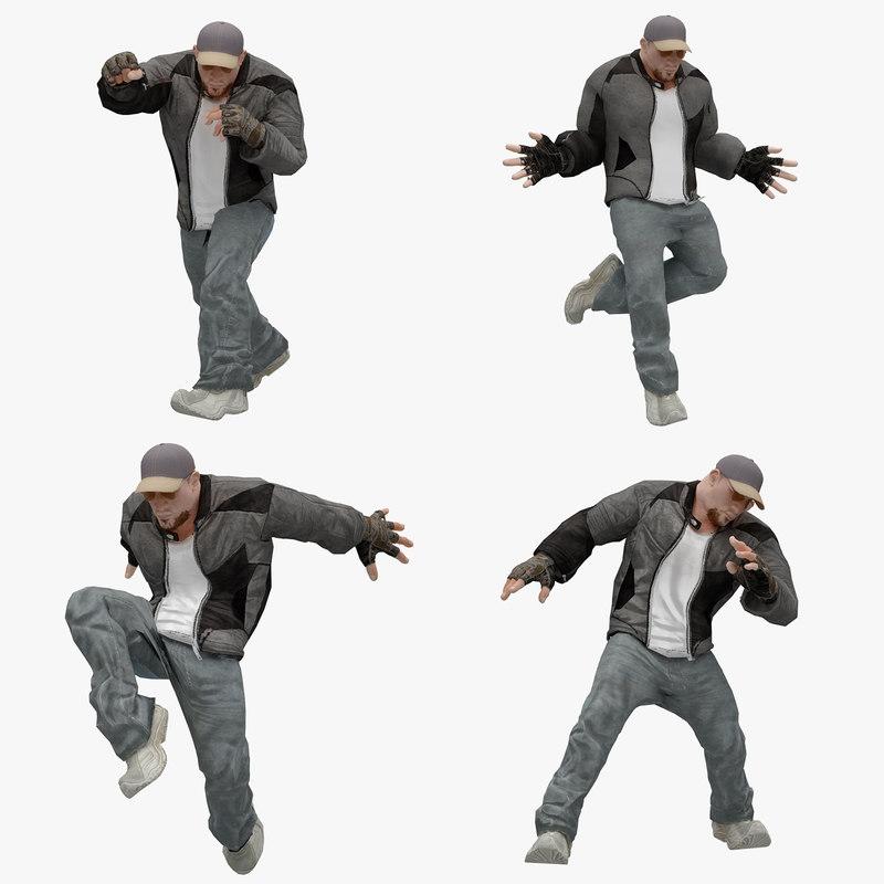3D model male