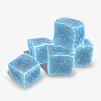 3D ice cube