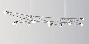 double church chandelier 3D model