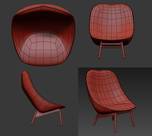 chair uchiwa model