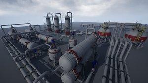 3D pack industrial model