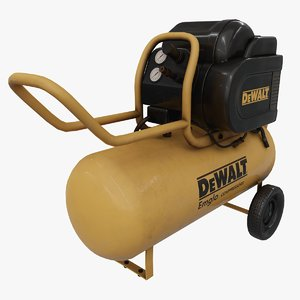air compressor dewalt 3D model