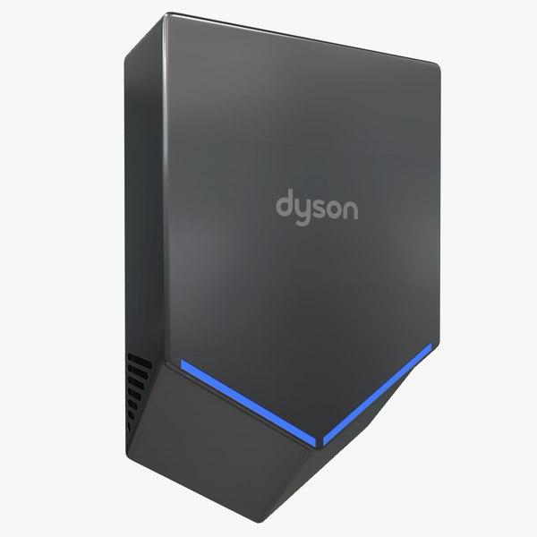 dyson airblade v dark 3D model