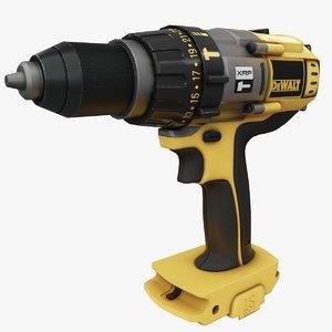 dewalt drill dcd 950 3D model