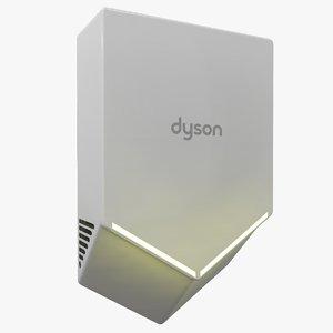 dyson airblade v light 3D model