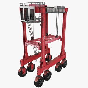 kalmar straddle carrier 3D model