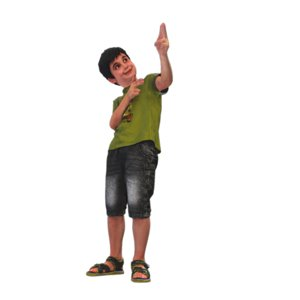 cool kid 3D model
