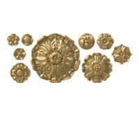Decorative rosette collection