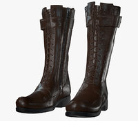 Brown Leather Boot PBR