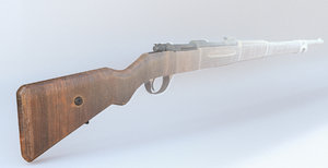 3D model 98 gewehr
