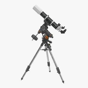 3D sky-watcher 120ed telescope celestron model