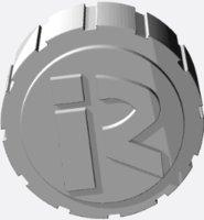 3D bottle cap pain circle