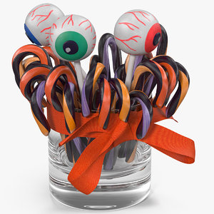 halloween candies 2 model