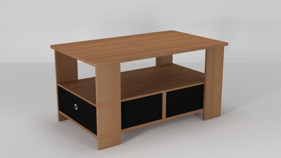 3D kenton coffee table