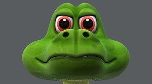 snake v01 3D model