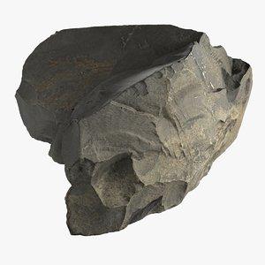 3D rock scan