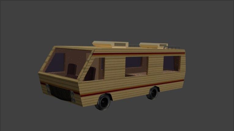 breaking bad van 3D