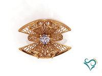 modeler printing ring gold 3D model