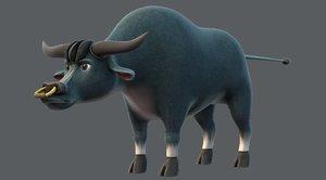 bull v01 3D