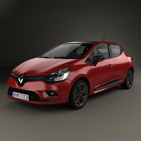 renault clio edition 3D model