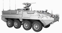 M1126 Stryker Game Model 178k