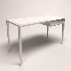 desk modern 3D model