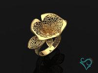 modeler print ring stl model