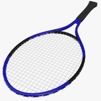 3D racket tennis ball model