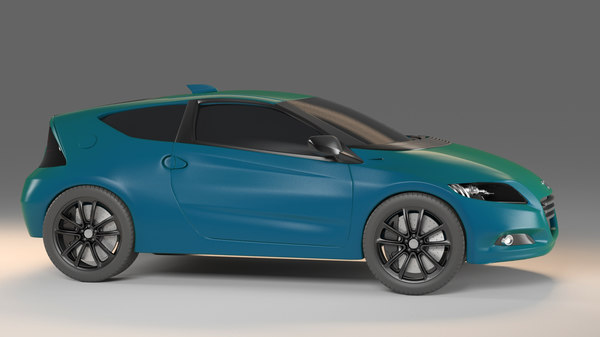 3D honda car