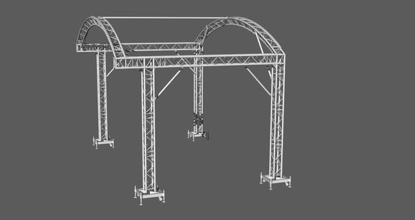 prolyte arc roof 6x4m 3D model