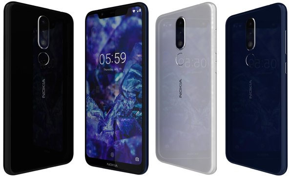 nokia 5 1 colors 3D