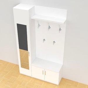 vestibule hatrack model