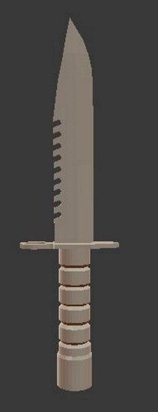 m9 bayonet model