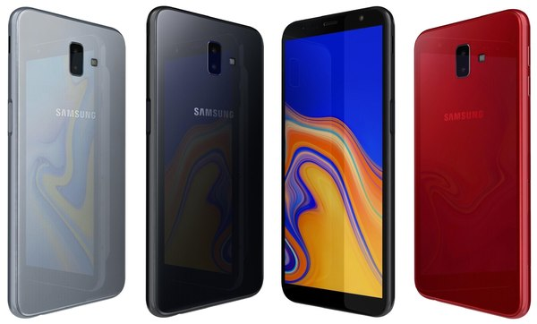 3D samsung galaxy j6 2018 model