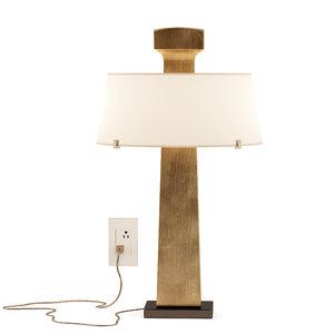 alexandre biaggi patmos table lamp 3D model