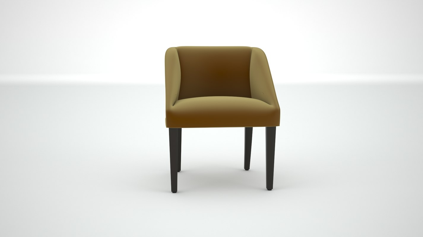 dining chair 3D