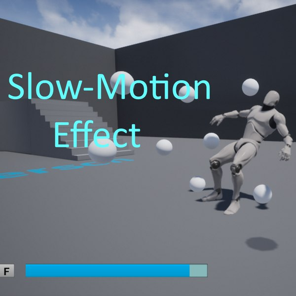 slow-motion slowness 3D model