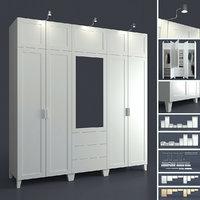 wardrobe ophus platsa 3D model