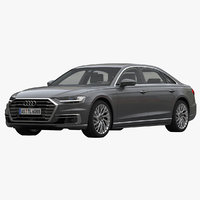 audi a8 long saloon model
