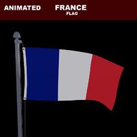 animation flag 3D