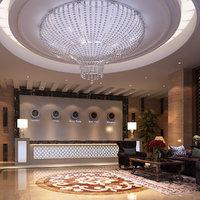 Hotel Lobby Scene