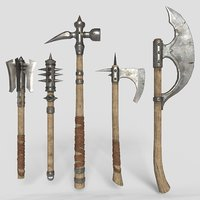 medieval weapons v1