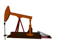 oil pumpjack model