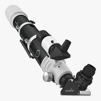 Sky-Watcher Pro 120ED Telescope 3D Model