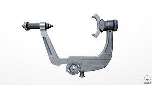 3D doro skull clamp