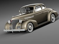 Chevrolet 1939 Coupe