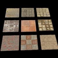 floor set 3D model
