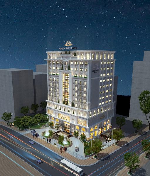 classic hotel luxury model