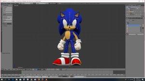 3D sega sonic hedgehog